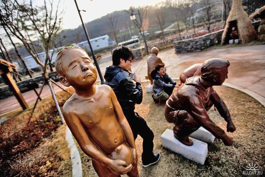 Музей туалетов в городе Сувон, Южная Корея