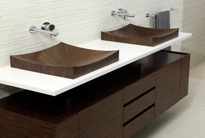 Деревянные ванны и умывальники от Alegna