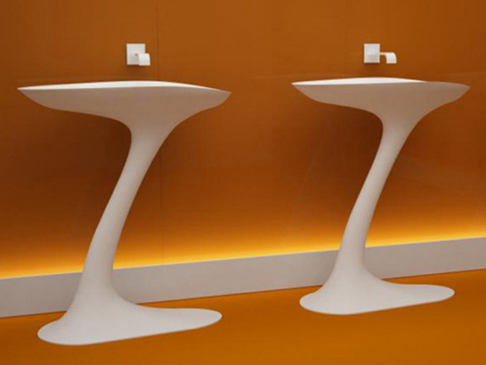 Изящные раковины от дизайнера Baldwin Rust