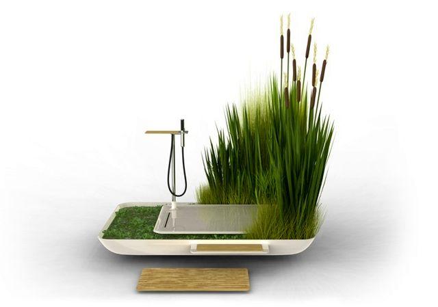 Эко-душ от японского дизайнера Юна Ясумото