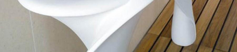 Сантехника в форме цветка от компании Mastella