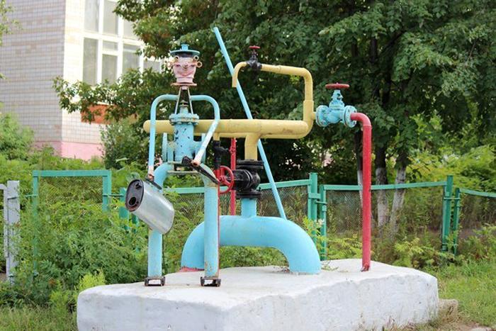 Памятник водопроводу в Ижевске