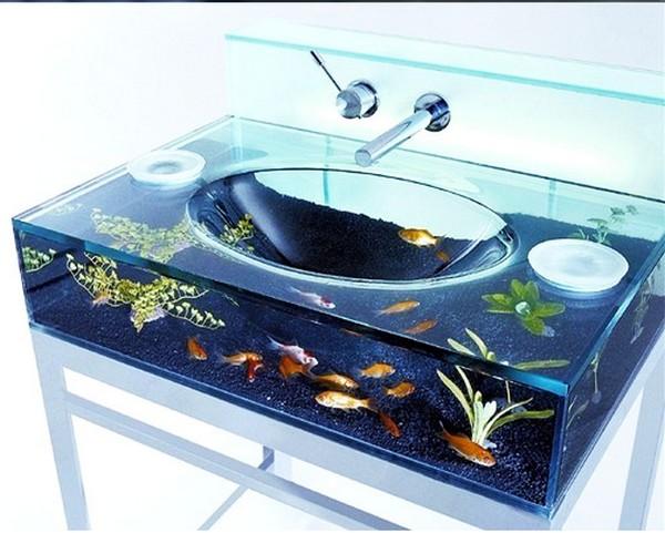 Раковина аквариум