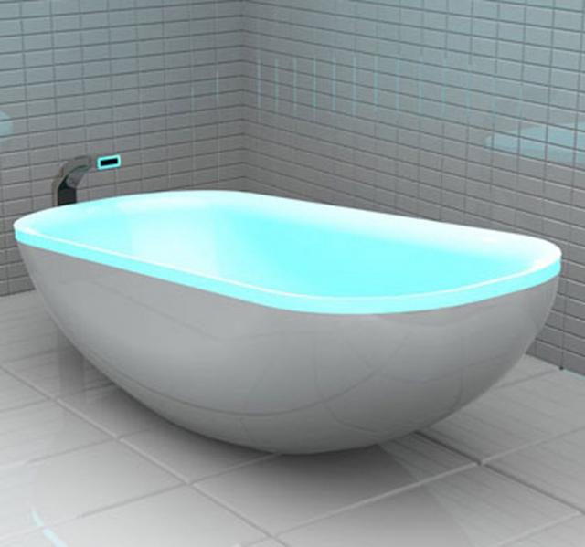Светящаяся ванна от Мелиссы Сопель