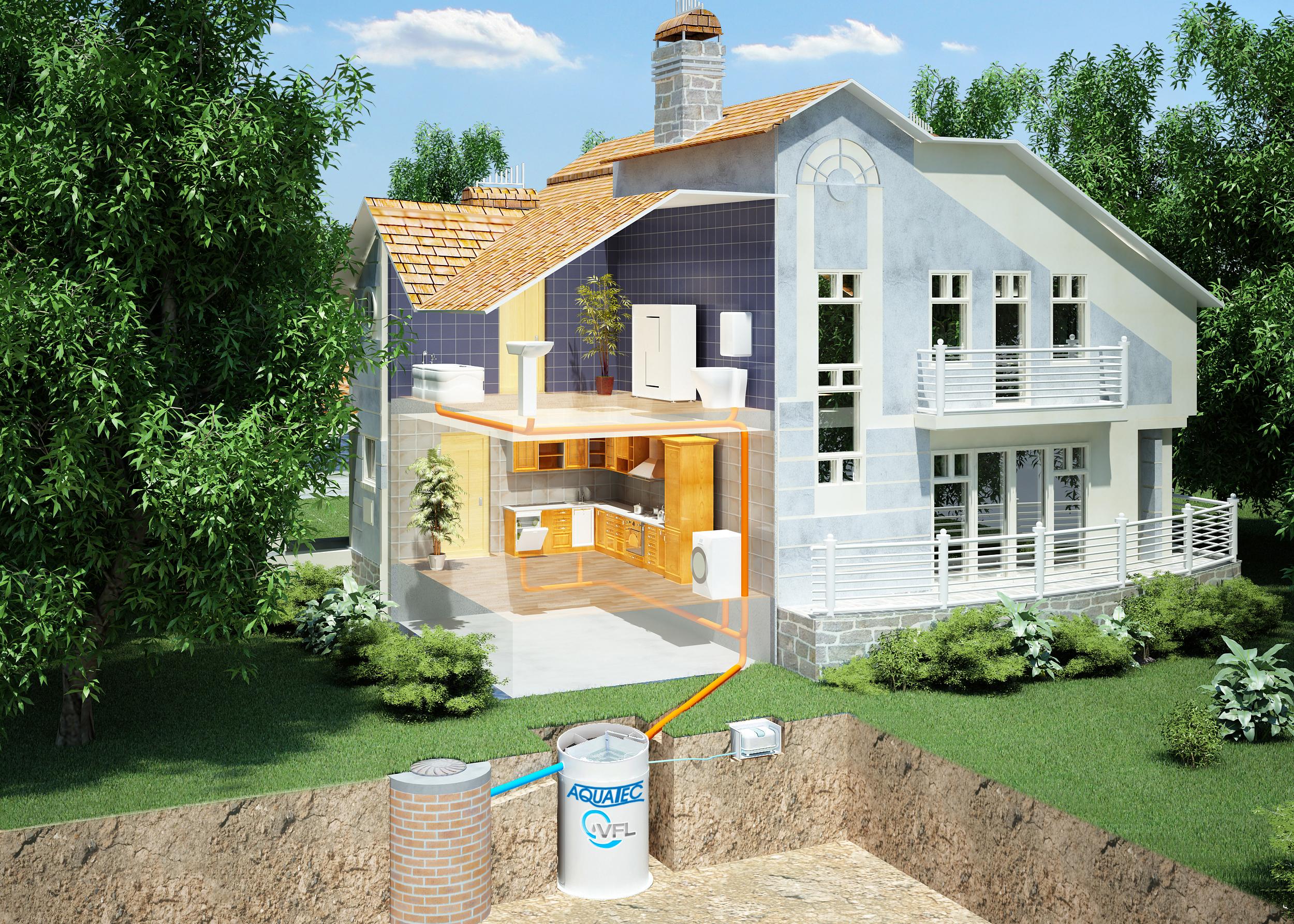 Фото и схемы загородных домов